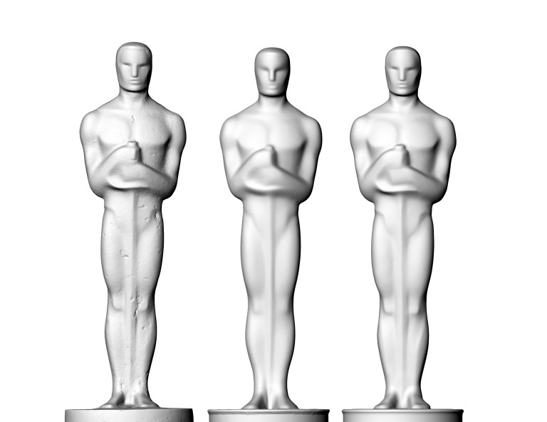 Dynamical 3D - Oscar Award 3Dprint 2
